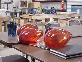 Blown Glass Vessels